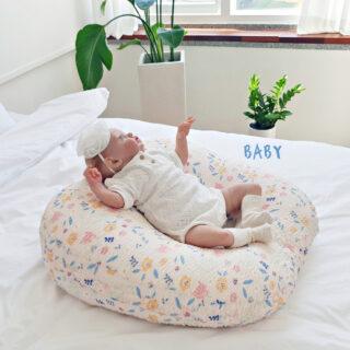 Gối chống trào ngược rototo bebe hoa kẹo ripple giấu khoá